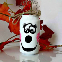 Halloween Party Favor Can - Ghost Halloween Decor - Halloween Party Decor - Halloween Ghost Candy Container - Spooky Caddy