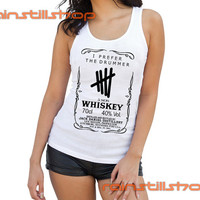 i prefer the drummer 5 sos JD logo - tank top for women