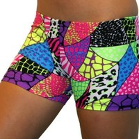 Jungle Safari Spandex Shorts Inseam in 3 Lengths