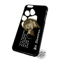 Ed Sheeran design custom art Cell Phones Cases For Iphone, Ipad, Ipod, Samsung Galaxy, Note, Htc, Blackberry