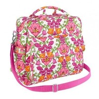 vera bradley convertible baby bag in lilli bell