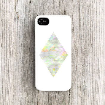 Diamond iphone 4 case, Diamond iPhone 5 case, Designer iphone 4 case Designer iphone 5 case opal iphone 4 case geometric iphone 5 case /c208