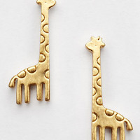Mini Giraffe Earrings