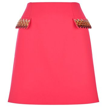 Mary Katrantzou Clovis Embellished Skirt | Harrods.com