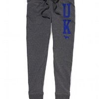 University of Kentucky Old School Fleece Legging - PINK - Victoria's Secret