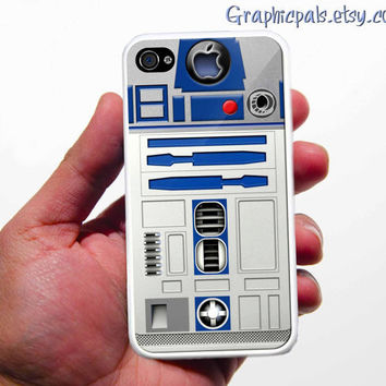 iPhone 4 Case R2/D2 iPhone 4 Case or iPhone 4s Case by Graphicpals