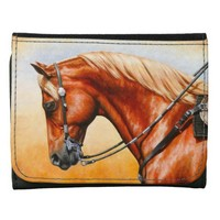 Western Pleasure Quarter Horse Wallets