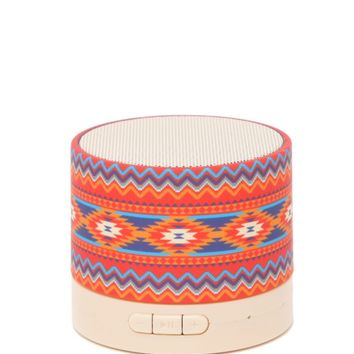 Audiology Printed Portable Bluetooth Speaker - Womens Scarves - Multi - One
