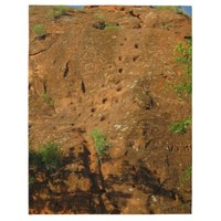 Footsteps in Red Rocks Jigsaw Puzzles