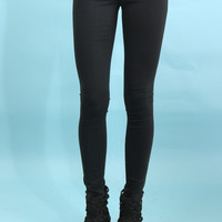 Flying Monkey Dark Grey Skinny Jeans