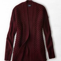 AEO COZY OPEN CARDIGAN