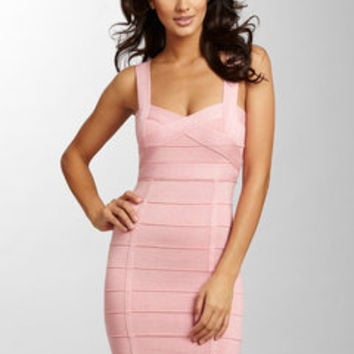 ideeli | WOW COUTURE Banded Sweetheart Neck Dress