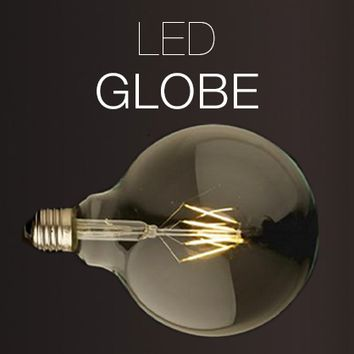 LED Globe Antique Replica Filament Bulb