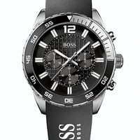 Hugo Boss Men's Ion-Plated Chronograph Watch