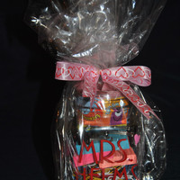 Custom (Personalized) Valentine Teacher Gift - Cup filled with school supplies!