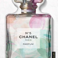 Smell The Flowers Perfume Bottle Pillow