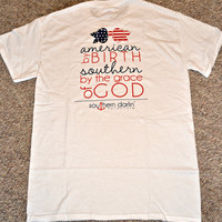 SOUTHERN DARLIN' COLLECTION: By the Grace of God Tee