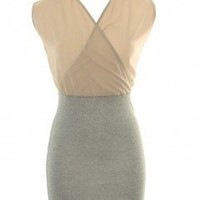 LOVE Dune Wrap Top Dress - Love