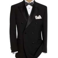 Men's Luxurious Double Breasted Tuxedo Suit $149