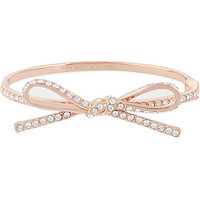 KATE SPADE - Pave bow bangle | Selfridges.com