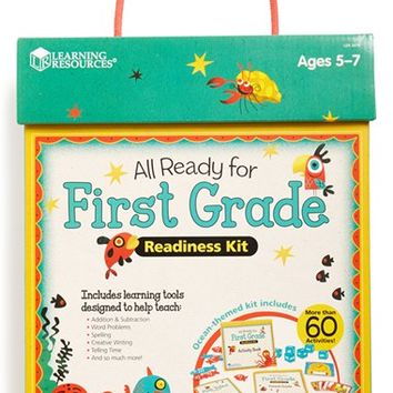 Boy's Educational Insights 'All Ready for First Grade' Readiness Kit