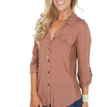 Ribbed Button Down Roast