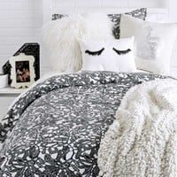 Downtown Lace Duvet Cover Set - Twin/Twin XL
