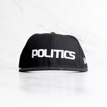 New Era X Sneaker Politics 59Fifty - 'Black'