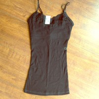Aeropostale Lace Stretch Tank