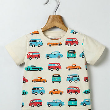 Off-White Cars Tee - Infant, Toddler & Boys