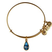 Alex and Ani Living Water Charm Bangle - Russian Gold