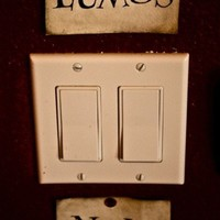 Harry Potter light switch