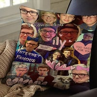 tyler oakley collage cover pillow case pillow cover pillow cotton