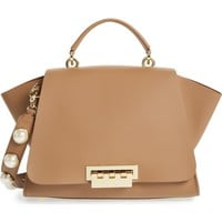 ZAC Zac Posen Eartha Iconic Leather Top Handle Satchel | Nordstrom