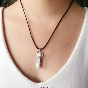 Daughter Gift Card Pendant Stone Woman Fashion Necklace