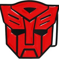 Transformers Autobot Red Metal Belt Buckle - Transformers - | TV Store Online