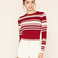 Colorblock Sweater Top