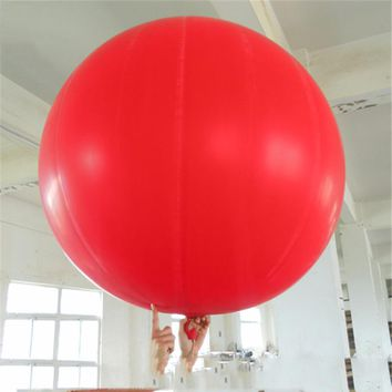 Children's inflatable toys, balls, super stretch, parent-child outdoor sports, interactive games, beach blowing, 1.5 meters in d