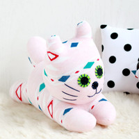 Handmade  Stuffed cat baby for kids  Stuffed Animal baby  Plush Toy   sock doll 5#   Ready to Ship