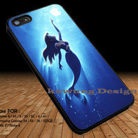 Ariel Reaching For an Apple iPhone 6s 6 6s+ 5c 5s Cases Samsung Galaxy s5 s6 Edge+ NOTE 5 4 3 #cartoon #disney #animated #theLittleMermaid DOP26
