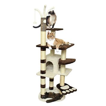 "64"" PlayHouse Tower For Cats🐈🐾"