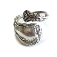 Sterling Spoon Ring Towle Old Master Size 9