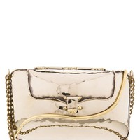 CRESCENT SHELL - Clutch - goldfarben