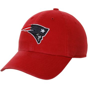 New England Patriots '47 Brand Classic Franchise II Fitted Hat – Red