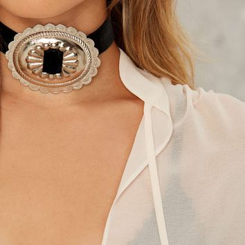 Rock 'N Rose Alabama Concho Choker