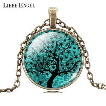 LIEBE ENGEL Life Tree Pendant Necklace