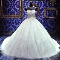 New Hoting Bride wedding dress Bridal custom size 2-4-6-8-10-12-14-16-18-20-22