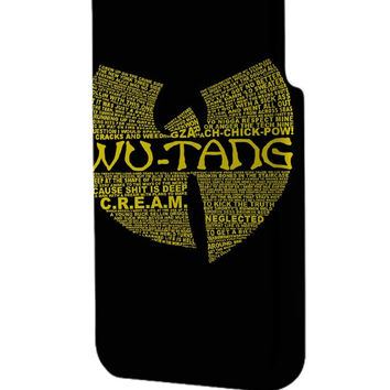 Best 3D Full Wrap Phone Case - Hard (PC) Cover with Wu Tang Clan Logo Design