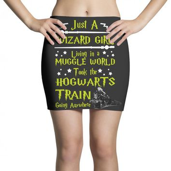 Just A Wizard Girl Living In A Muggle World Mini Skirts