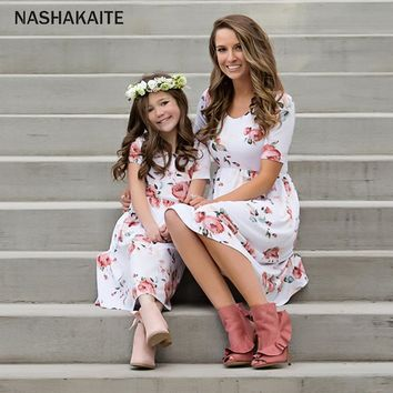 Mariah's Mommy + Me Matching Floral Dress
